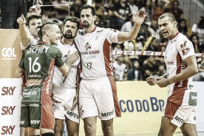 Com jogo em Belém, Campinas vence Sesi pela Superliga de Vôlei