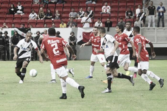 Vasco de Gama perde para o Vila  Nova no Brasileirão (1-2)