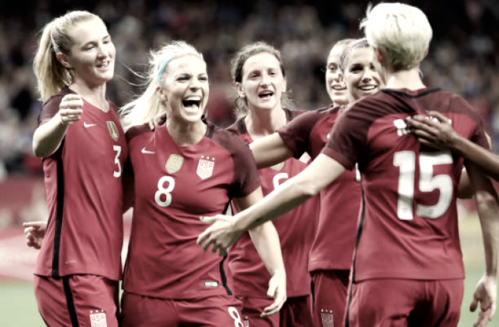 U.S. Women's National Team wins first of two over Korea Republic, fifth straight