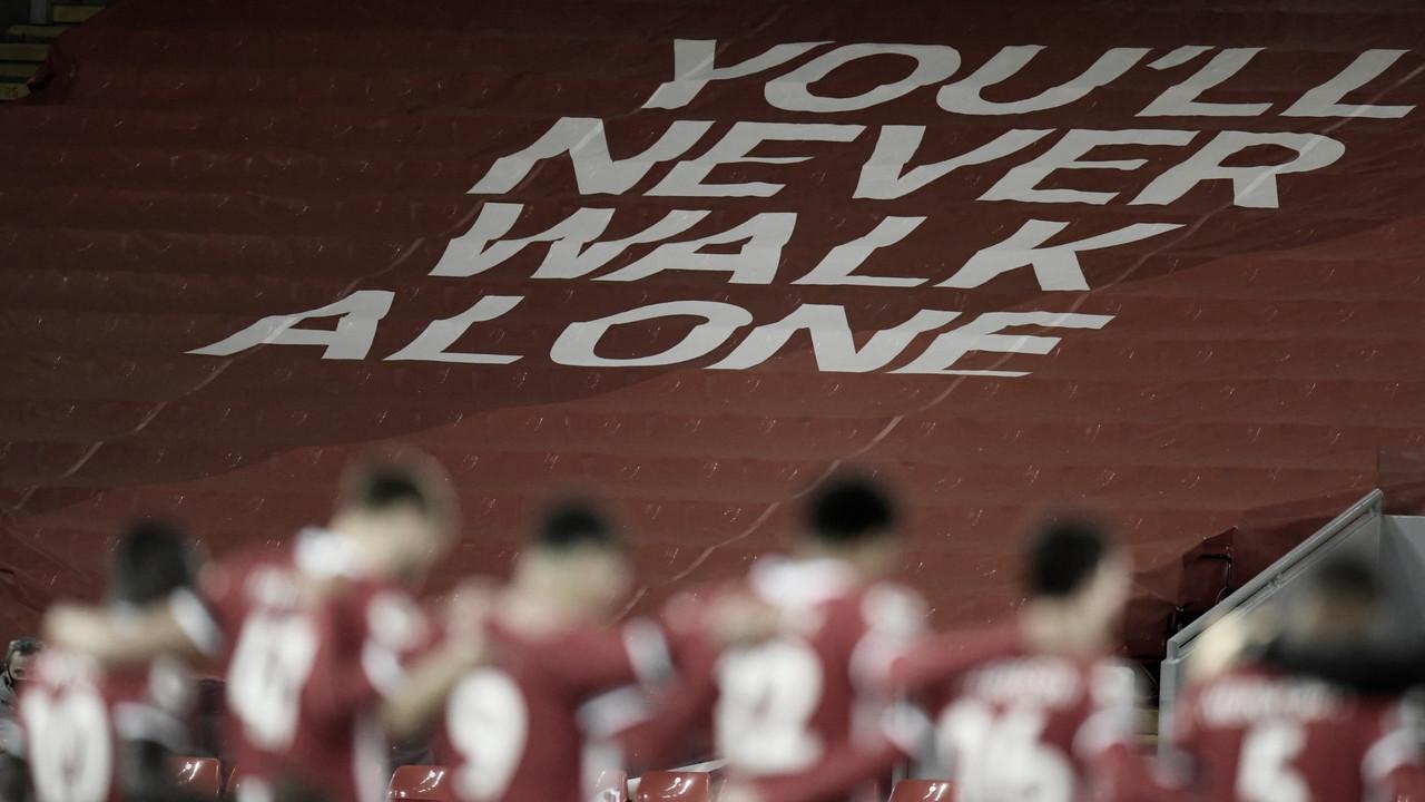 Imagen del Liverpool tras la vuelta al fútbol / FOTO: Liverpool