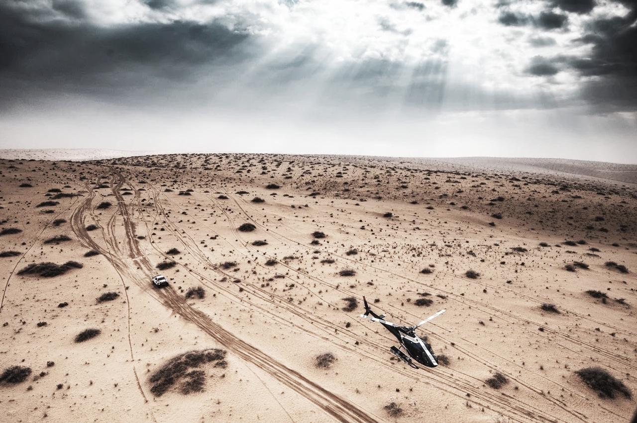 Día oscuro en el Dakar