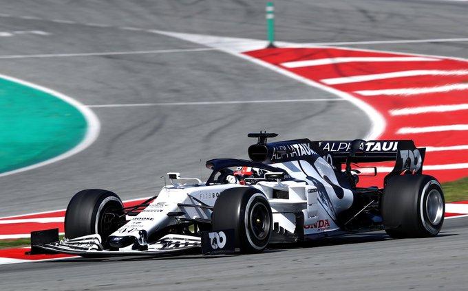 Test Formula 1, Day-5: Vettel davanti, sugli scudi Alpha Tauri e Racing Point