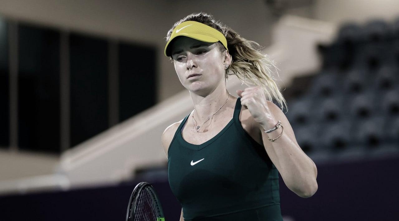 Svitolina salva match points e supera longo duelo contra Alexandrova em Abu Dhabi