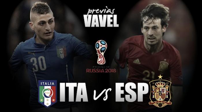 Espanha busca revanche contra Itália para consolidar liderança do Grupo G das Eliminatórias