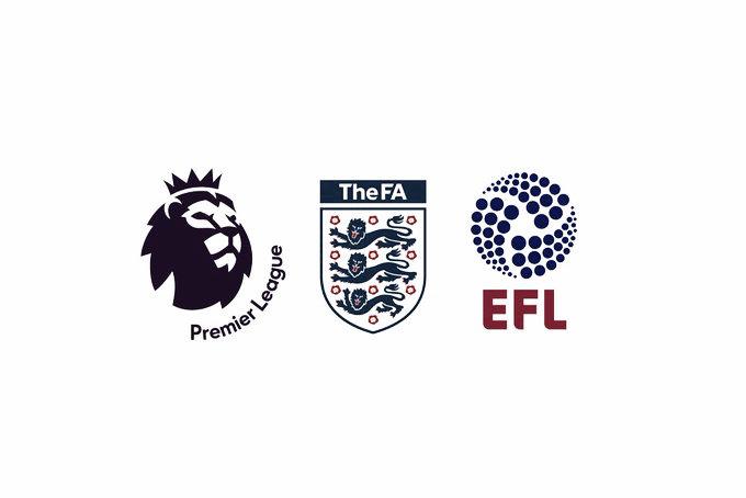 El fútbol también para en Inglaterra
