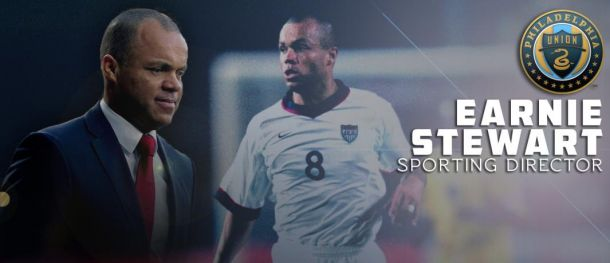 Philadelphia Union Sign Earnie Stewart As Sporting Director