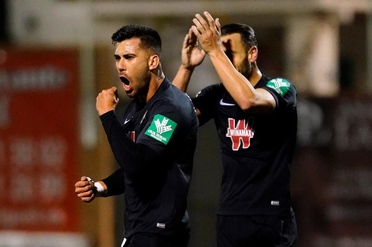 CDA Navalcarnero - Granada CF: puntuaciones del Granada, octavos de final de la Copa Del Rey