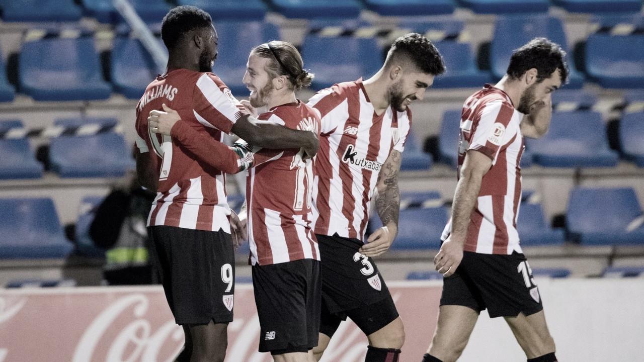 CD Alcoyano 1-2 Athletic Club: los rojiblancos pasan a cuartos