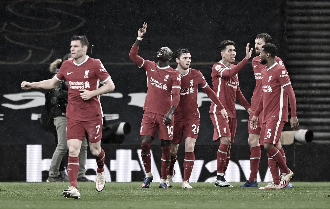 Liverpool vence Tottenham e encerra sequência negativa na Premier League