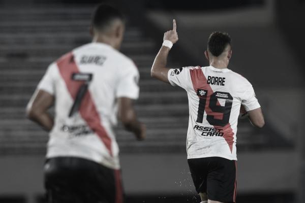 Participación 'cafetera' en la humillante victoria de River Plate contra Binacional