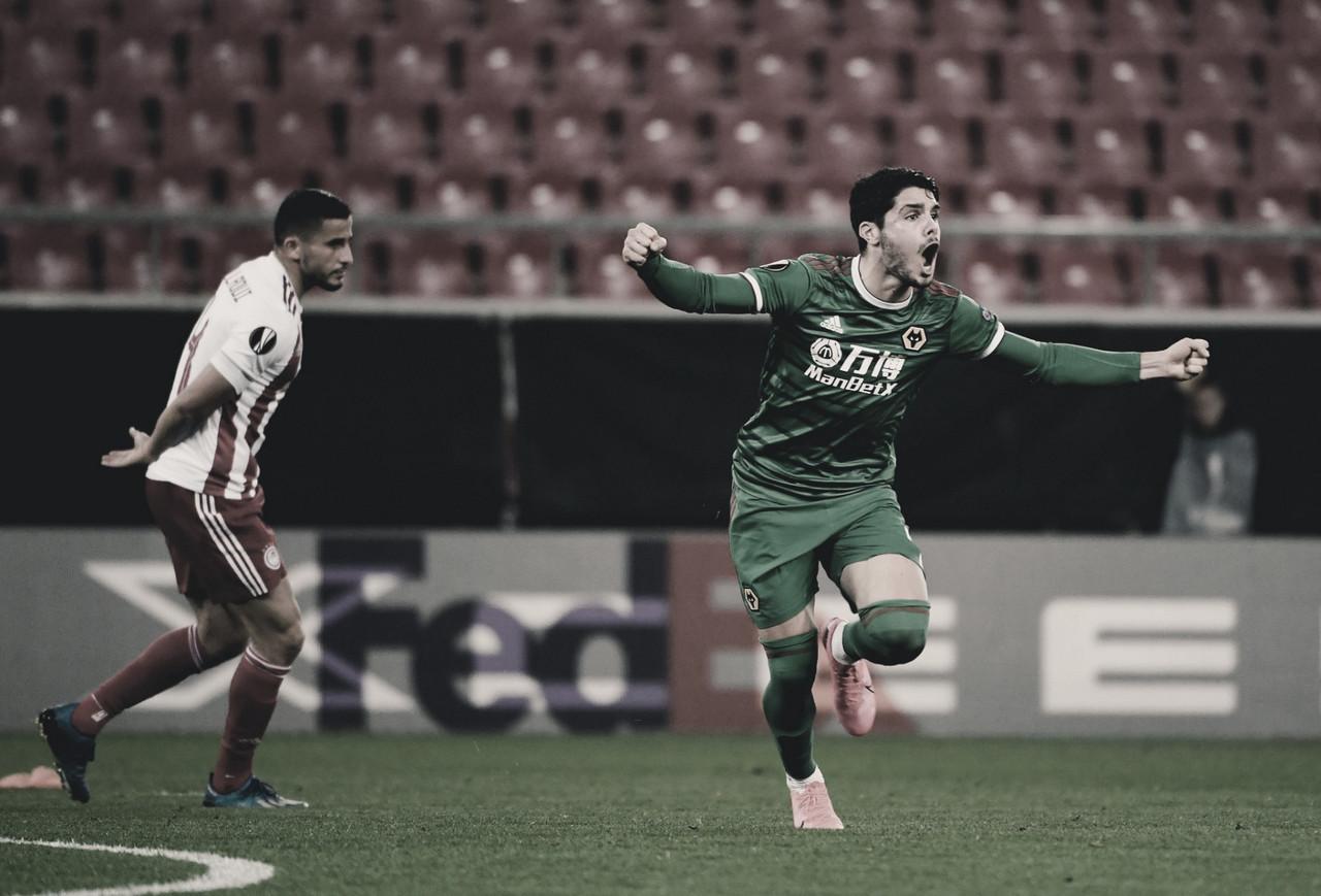 Wolverhampton arranca empate com Olympiacos nas oitavas da Europa League