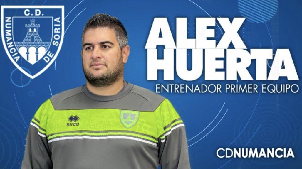 """Álex Huerta: """"Si no encajamos gol, tendremos mucho hecho"""""""