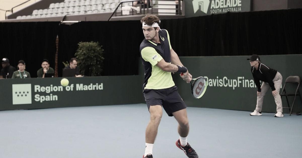 Copa Davis: Wild tira set de Millman, mas perde partida; Monteiro também é derrotado