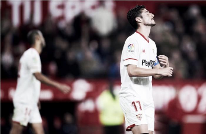 El Sevilla no encuentra su estilo