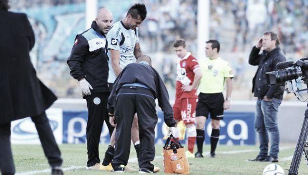 Grave lesión del 'Tirri' Escudero