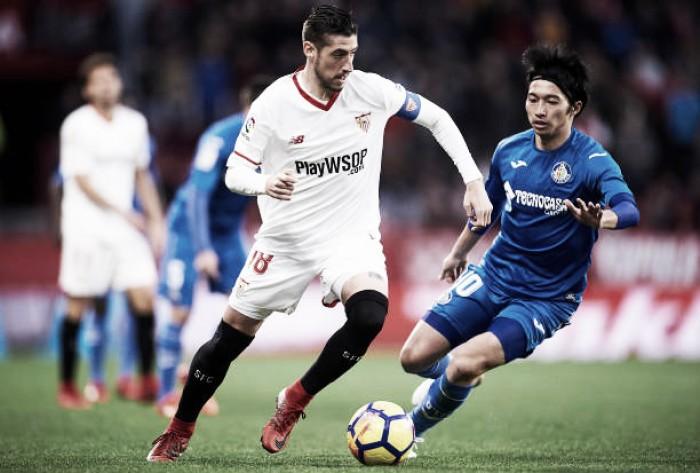 Sevilla sofre gol 'polêmico' no fim e apenas empata com Getafe em casa
