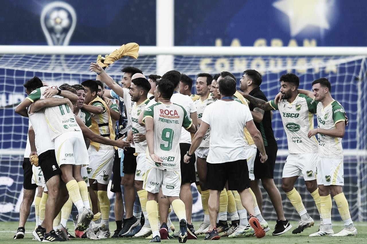 Felicidad verde y amarilla (Foto: Club Defensa y Justicia)