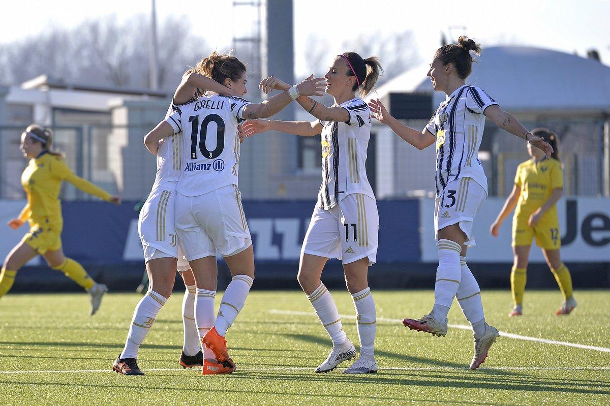 Serie A Femminile: Juventus dodici bellezze