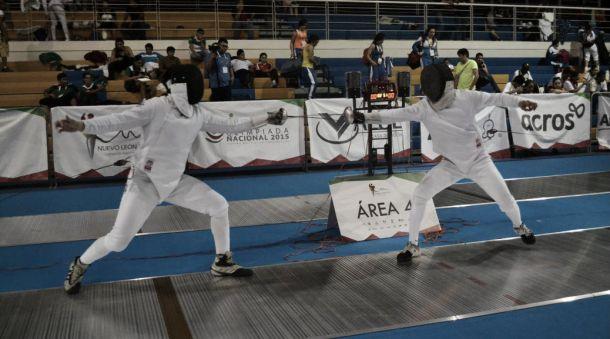 Jalisco domina Esgrima en Olimpiada Nacional