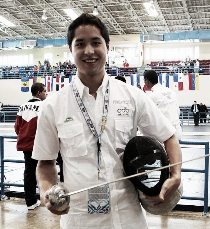 Esgrimista Daniel Gómez confía en que podrá llegar a Río 2016