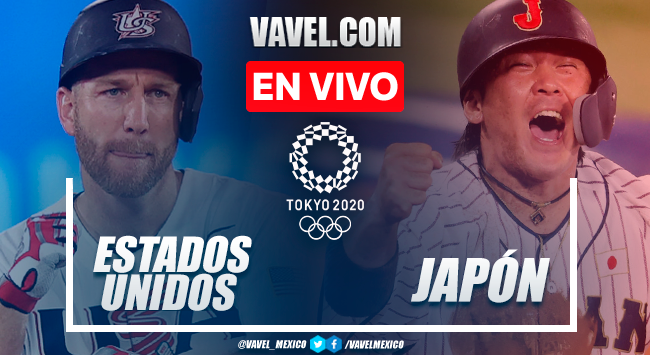 Resumen y carreras: Estados Unidos 0-2 Japón en Medalla de Oro del Béisbol por Juegos Olímpicos 2020
