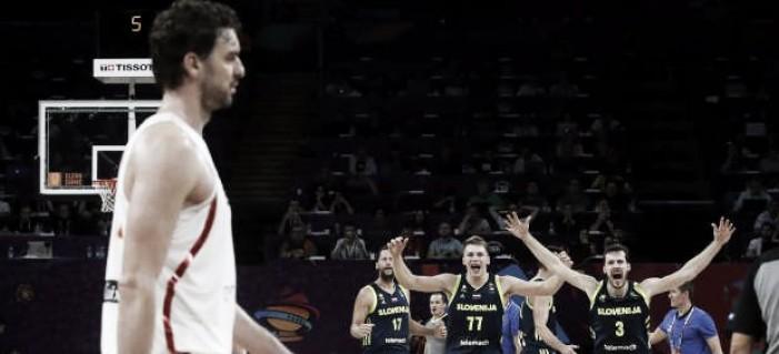 Eslovenia deja a España sin final a base de triples