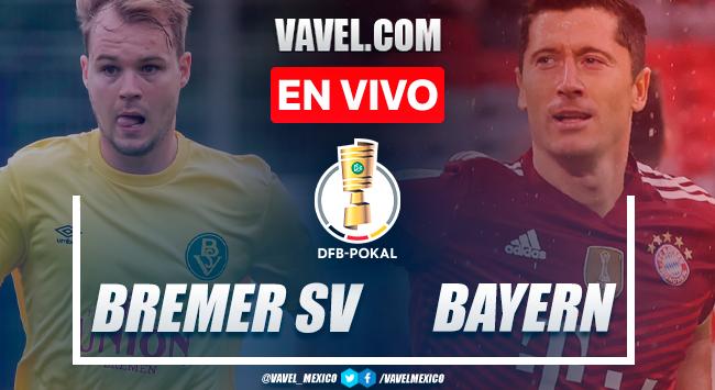 Resumen y goles: Bremer SV 0-12 Bayern Múnich en DFB-Pokal 2021