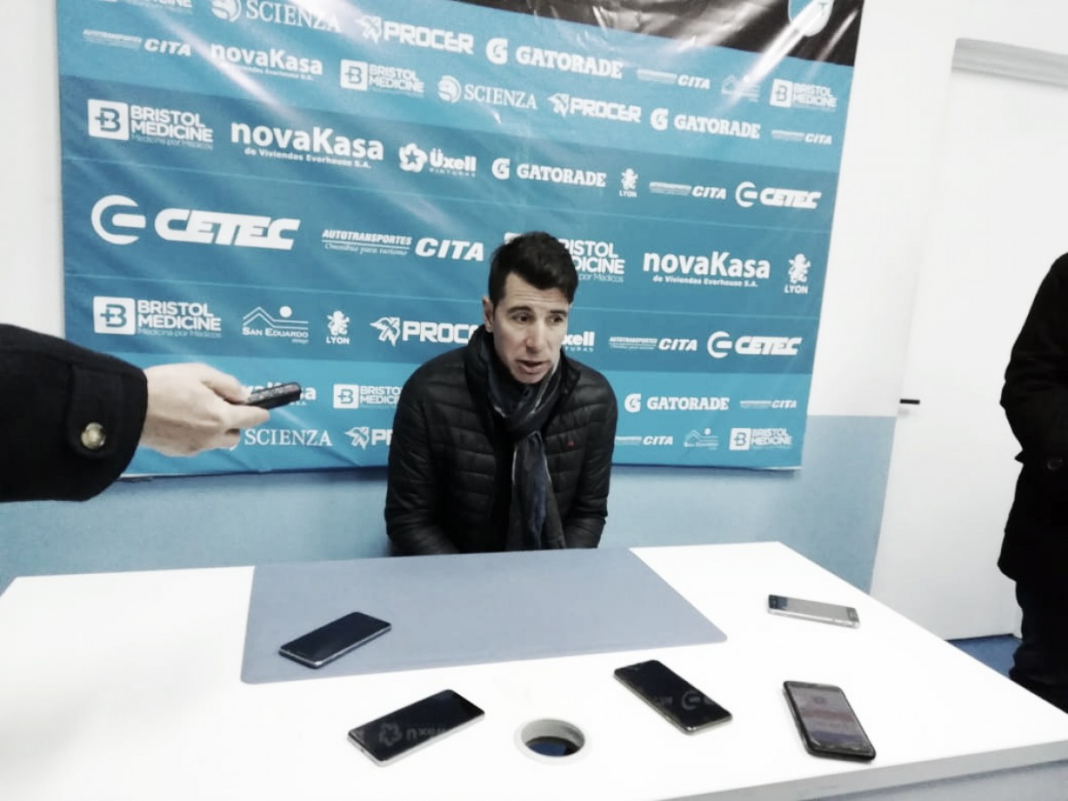 """Gastón Esmerado: """"Desde que dirijo, es la primera vez que veo a un equipo con poca actitud"""""""