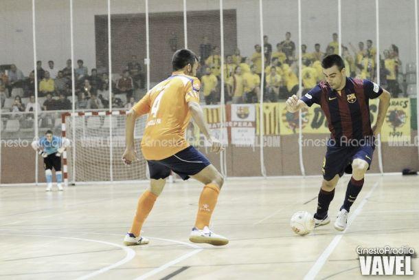 El FC Barcelona no da opción al Escola Pia