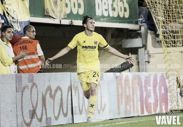 """Espinosa: """"Venir al Villarreal ha sido un gran paso en mi carrera"""""""