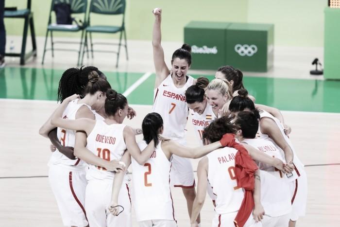 Rio 2016 - Basket femminile: La Spagna è la prima finalista