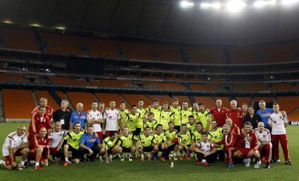 Soccer City: el regreso más emotivo a un estadio