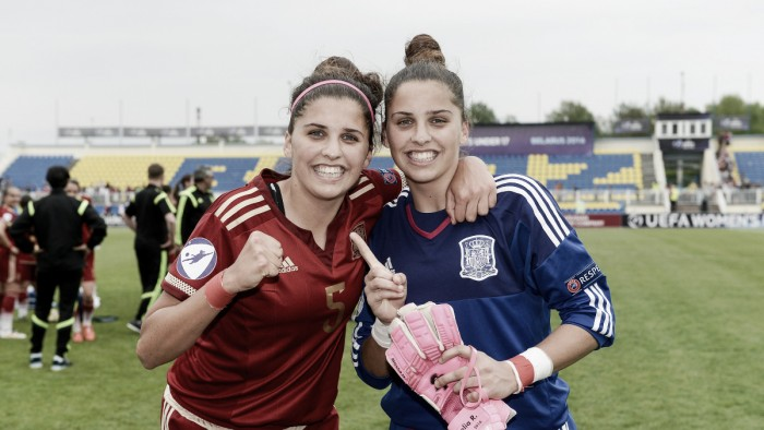 2016 UEFA Women's under-17 Championship - Spain 4-0 Norway: Late goals see holders Spain reach final