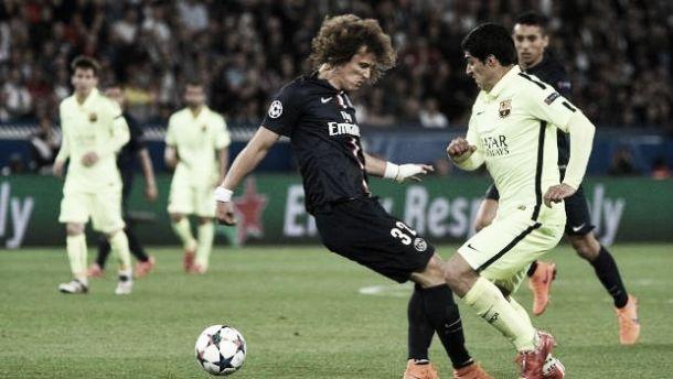 PSG 1-3 Barcelona: Suárez acelerou num túnel chamado David Luiz