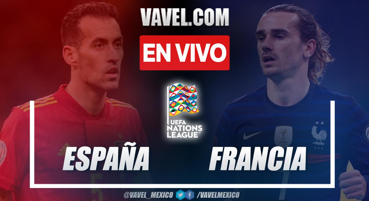 Resumen y goles: España 1-2 Francia en UEFA Nations League