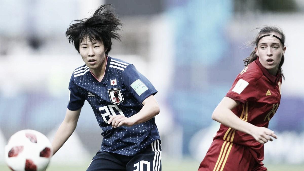 Japón goleó a España para ganar el Mundial Sub-20 femenil