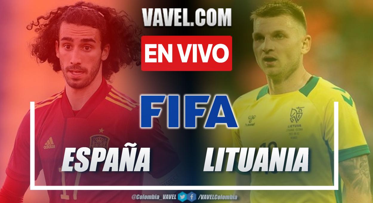 Resumen y goles: España 4-0 Lituania en partido amistoso 2021