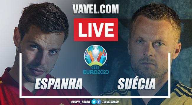 Melhores momentos para Espanha x Suécia pela Eurocopa 2021 (0-0)