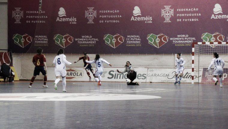 III Mundial de fútbol sala femenino: jornada de goleadas