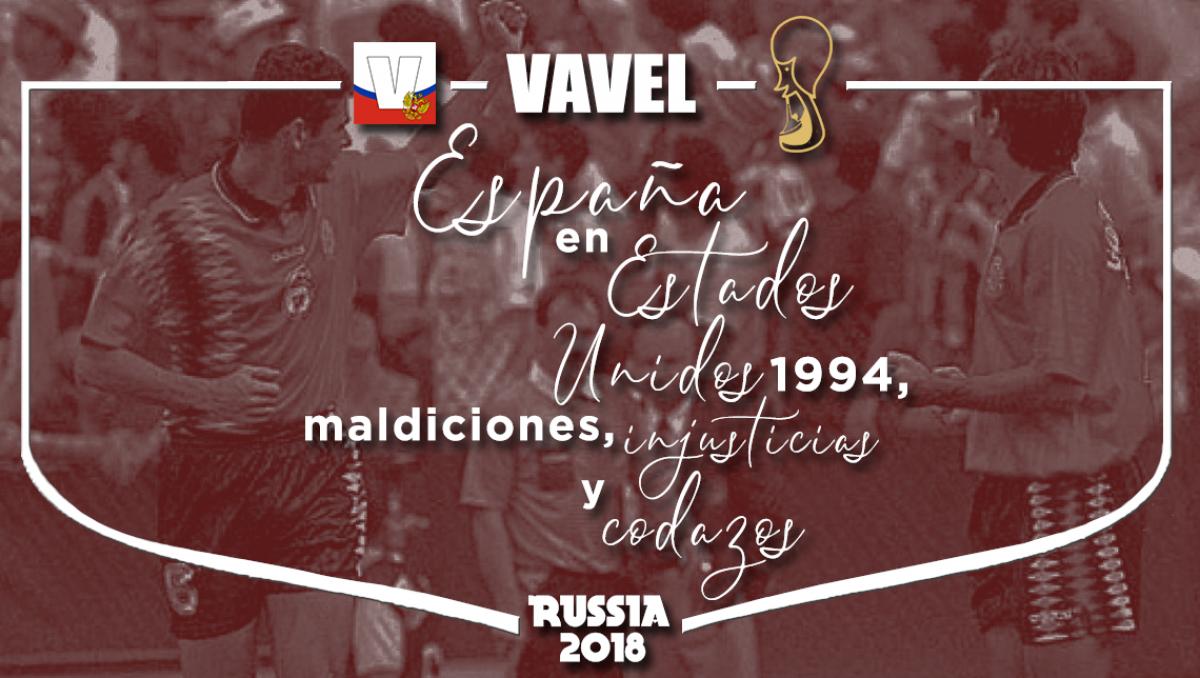 España en EE. UU. 1994: maldiciones, injusticias y codazos