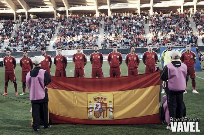 Hilo de la selección de España sub 21 e inferiores Espana-1645200410