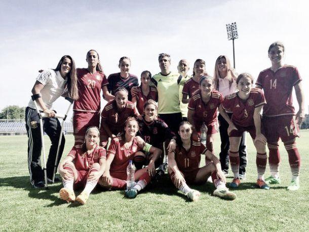 España reina en el Torneo Internacional de la UEFA