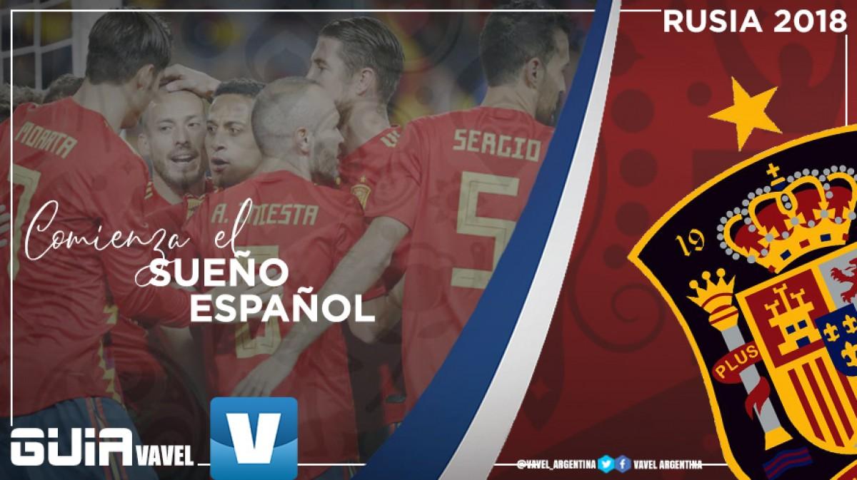 Guía selección española 2018: comienza el sueño español