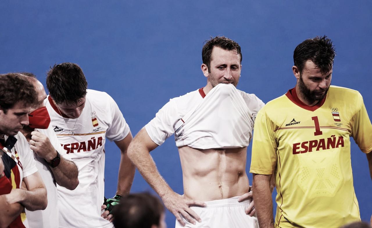 España, de hockey sobre césped, se despide de los Juegos Olímpicos
