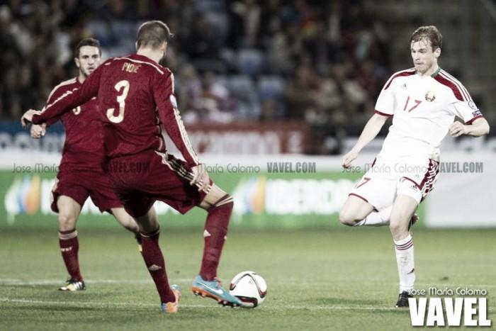 Piqué lidera a 'La Roja'