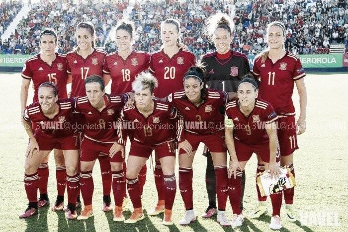 España femenina se mide a Francia el próximo sábado