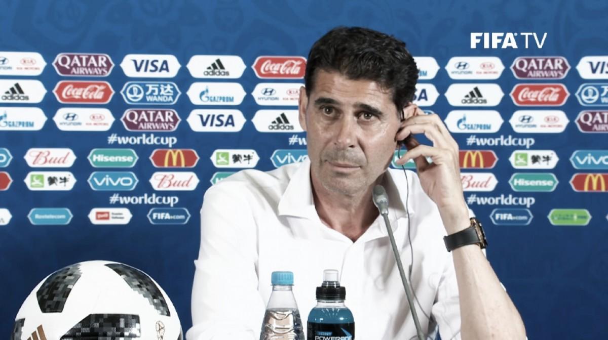 Fernando Hierro: ''Ha sido un partido complicado y parejo''