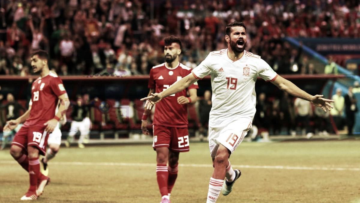 """España ganó en un partido """"Costa"""" arriba"""