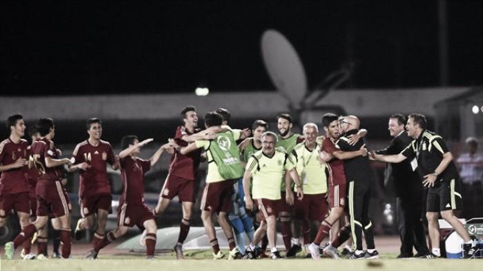 Partido Georgia vs España en Torneo de Desarrollo de la UEFA Sub-19 2016