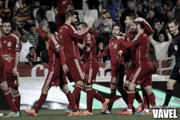 España - Ucrania: la primera final